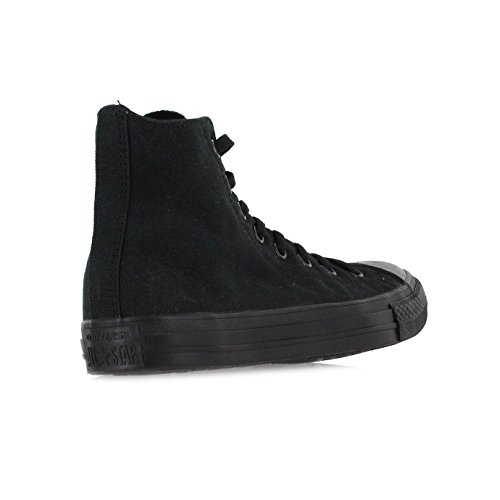 Converse Mens Chuck Taylor All Star High Top, 13 D(M) US, Black Monochrome by Converse (Image #2)
