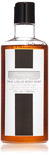 Luxury Champagne (LAFCO House & Home True Liquid Body Soap, Champagne, 12 Fl Oz)