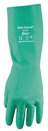 Chemical Resistant Gloves, Nitrile, XL, PR