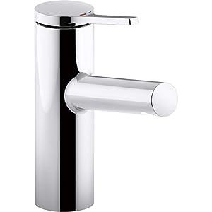 Kohler K-99491-4-CP Single Handle Bathroom Sink Faucet Polished Chrome from Kohler