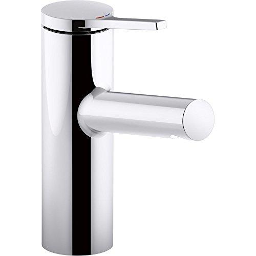 Kohler K-99491-4-CP Single Handle Bathroom Sink Faucet Polished ...