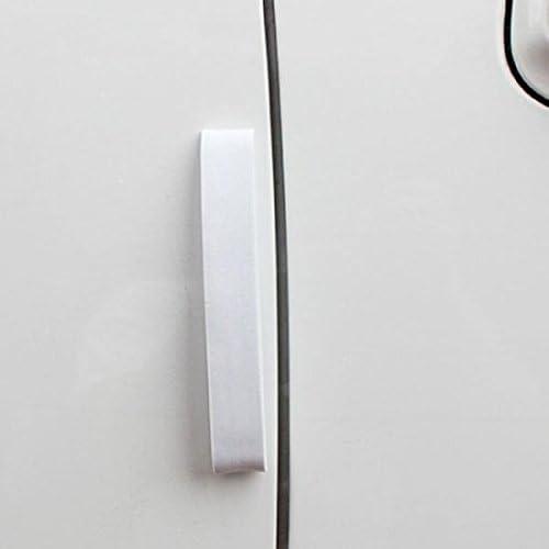 System S 4er Set Auto Kfz Türkantenschutz Kantenschutz Türschoner Autotürkantenschutz Stoßschutz Schutzleisten Selbstklebend In Weiß Auto