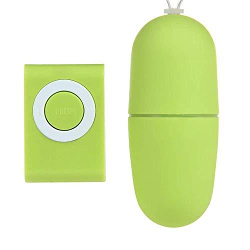 ncvdj 20 Speed Víbrátór Sexs-Toys Silicone Covered Wireless Remote Control Jump Eggs Būllets Víbrátórs,Green Sexx Tops Tshirt