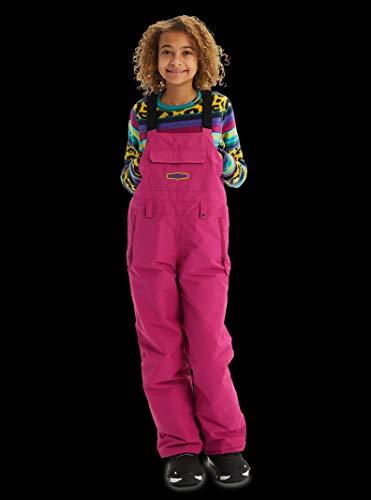 - Burton Kids' Skylar Bib Snow Pant, Fuchsia, Small