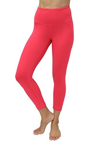 90 Degree By Reflex – High Waist Tummy Control Shapewear – Power Flex Capri-Cereza-M