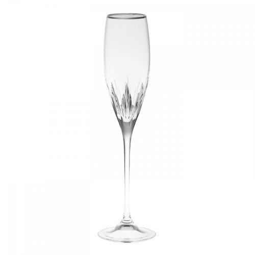 Wedgwood Duchesse Platinum Flute, Clear