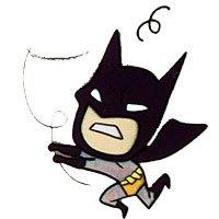 iPhone 6 / iPhone 6S Case, Litech [Flexible Ultra Slim] Scratch-Resistant, Superhero Series (Batman)