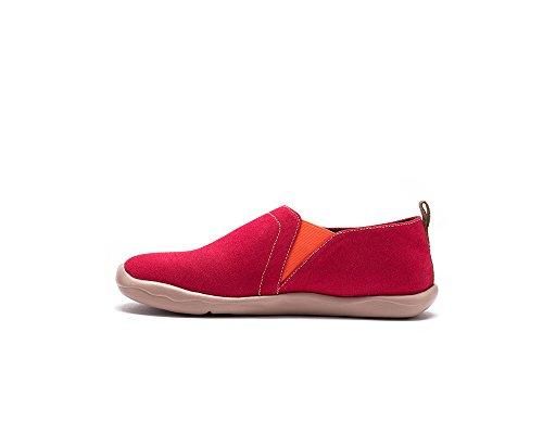 Peintes Chaussures Pour Toiles Sportives Rouge De Femme Uin Corail 5fqFAwAX