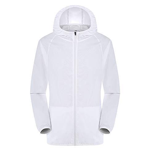Fanville Men/Women Outdoor Bicycle Jacket Windproof Quick Dry Coat Hooded Rain Jacket Summer Outdoor Sports Ultra-Light…