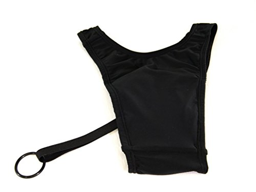 Cross-Dress Ultimate Hiding Gaff with Adjustable Tucking Ring Black (LG 36-38