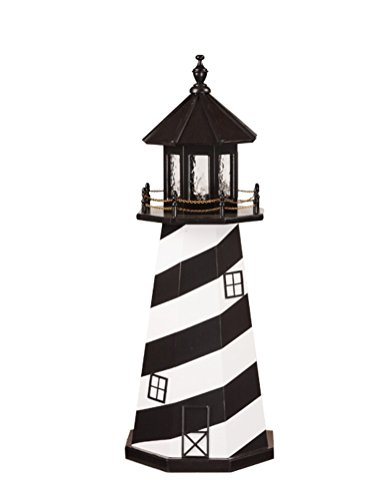 Beaver Dam Woodworks 4 Foot Amish Made Cape Hatteras Wooden ()