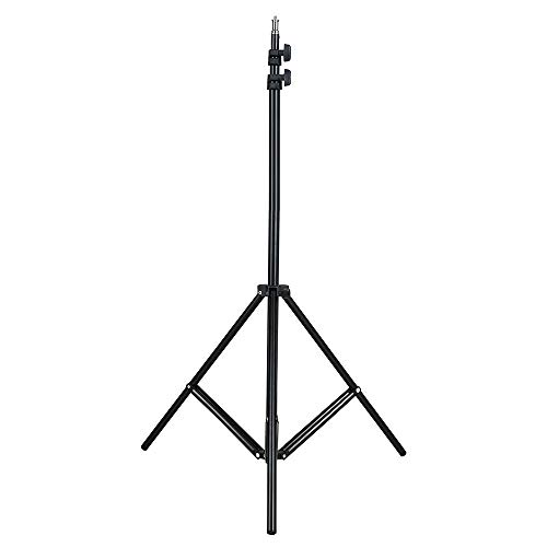 Andoer 2m / 6.6ft Photo Studio Light Stand for Studio Photography