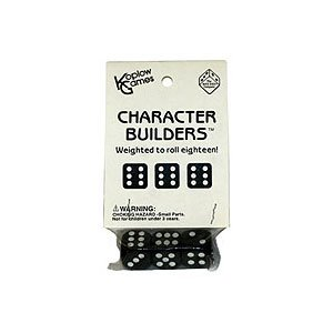 Character Builder Loaded Dice by Koplow Games