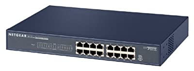 NETGEAR JFS516 16-port Fast Ethernet Switch (10/100 Mbps)