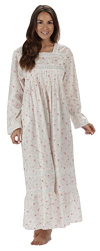 the-1-for-u-cotton-nightgown-with-pockets-white-large-vintage-rose