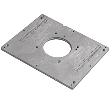 Bosch ra1185 router table mounting plate amazon diy tools bosch ra1185 router table mounting plate greentooth Image collections