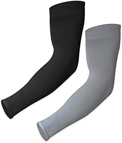 UV Sun Protection Arm Sleeves - Cooling Sports Compression Multipack Athletic Sleeves for Basketball, Running, Cycling, Golf