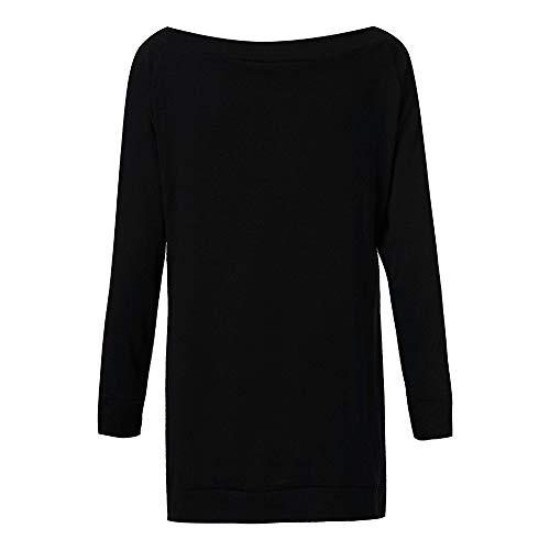 Fille Vicgrey Fille à Tops longues Hiver Sweats Plain Sweat shirt femme T manches Black Manteaux shirt Tumblr Sweat shirts à Sweatshirts Veste capuche Casual EqCwqA