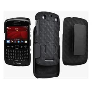 OEM BlackBerry Curve 9350/9360/9370 Hard Case Shell & Holster Combo with Kickstand