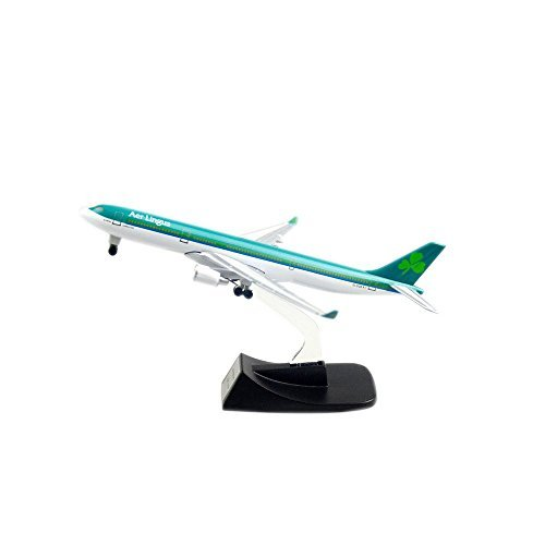 Ireland Aer Lingus A330 Alloy Metal Plane Airplane Models By 24 Hours