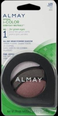 Almay Intense I-Color Everyday Neutrals Eye Shadow - Greens/120 (Pack of 2)