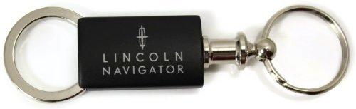 Lincoln Navigator Black Valet Key Fob Authentic Logo Key Chain Key Ring Keytag Lanyard