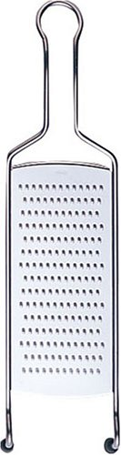 Fine Spice Grater - Rösle Stainless Steel Fine Grater, Wire Handle, 15.9-inch