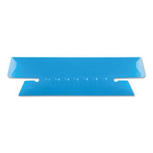 Pendaflex. Hanging File Folder Tabs, 1/3 Tab, 3 1/2 Inch, Blue Tab/White Insert, 25/Pack (4312BLU) by Pendaflex