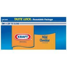 Cheese Firm (Kraft Natural Mild Cheddar Colby Chunk Cheese, 8 Ounce - 12 per case.)