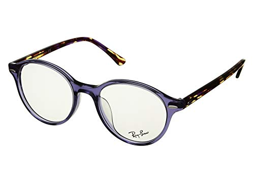 Ray-Ban Unisex 0RX7118F Transparent Violet One Size