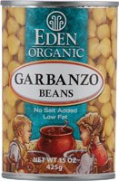 Eden Foods Organic Garbanzo Beans Low Fat -- 15 oz