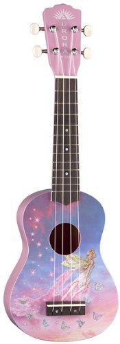 Luna Guitars Aurora Childrens Nylon String Ukulele - Faerie