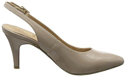 De Para Patent Lotus nude Tira Beige Tobillo Nadia Mujer Zapatos Con wTwfFSqnI