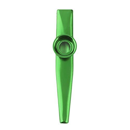 Metal Kazoo 4 Colors Flute Diaphragm Harmonica Gift for Kids Lover Christmas ()