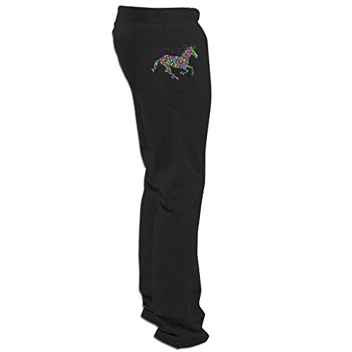 Sims 3 Party Costume (Texhood MEN'S Rainbow Unicorn Short Trainning Pants Size)