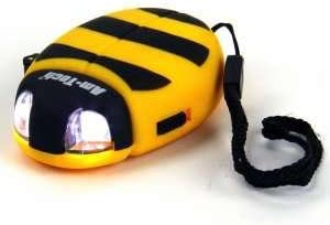 Wind Up Bug Torch In Yellow
