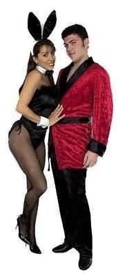 Halloween Smoking Jacket (Men X-Lg (46-48 Jacket) Red Costume Smoking Jacket - JACKET)