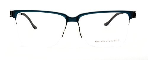 Mercedez Benz eyeglasses M 6040 B semi rimless - Benz Glasses Mercedes