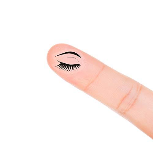 - MAGJUCHE Eyelash Makeup Planner Stickers, 120 Clear Beauty Tweezer Sephora Planner Labels Scrapbooking Crafting Stickers