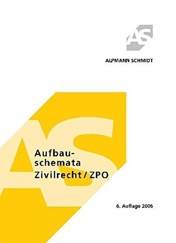 Aufbauschemata Zivilrecht / ZPO: BGB, Handels-, Gesellschafts- und Zivilprozessrecht