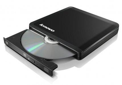 New Sealed Genuine Original Lenovo Slim USB Portable DVD Burner (57Y6728/0A33988). Not 3rd Party, Original Lenovo Part.