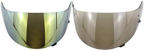 2ピースフルフェイスヘルメットバイザーヘルメットバイザーHJC HJ-09 CL-15 CL-17用の良好なエアフローを備えたUV放射線保護