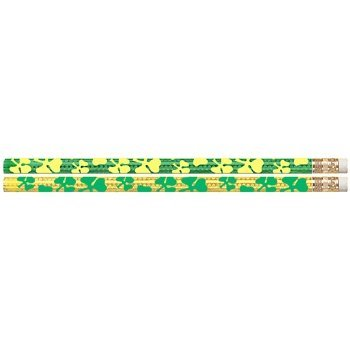 Shamrock Pencils - D1551G Shamrock Glitz - 144 St. Patrick's Day Pencils