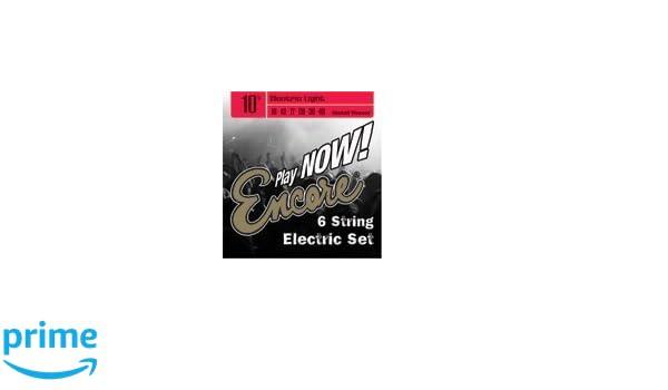 Encore EES10 - Juego de cuerdas para guitarra eléctrica: Amazon.es: Instrumentos musicales