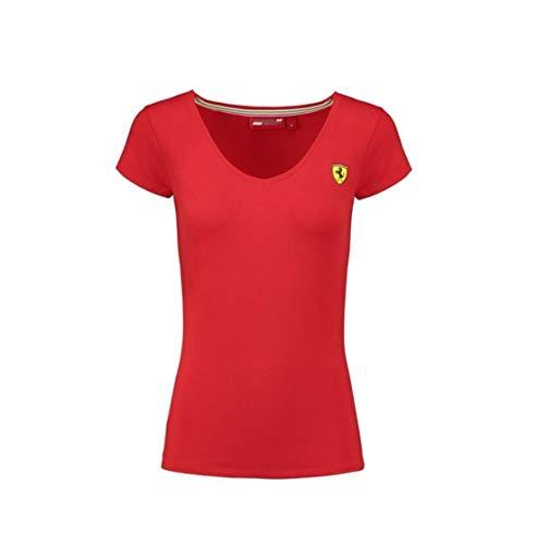 - Scuderia Ferrari Women's Classic T-Shirt Red (S)