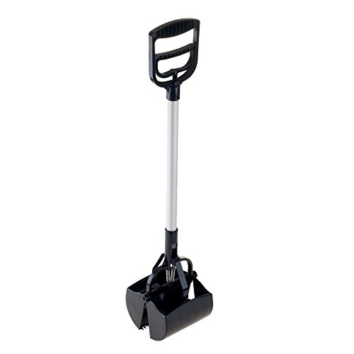 31W0XvwRhGL - PETMAKER 80-PET5060 Portable Heavy Duty Spring Load Action Jumbo Pooper Scooper Shovel