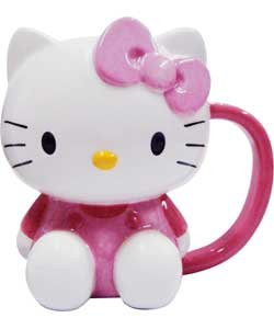 Hello Kitty 3d taza (ij628dc)