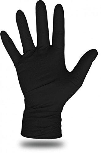 Boss使い捨て化学手袋 – XL – ブラック – Xラージ B005BUZPUO