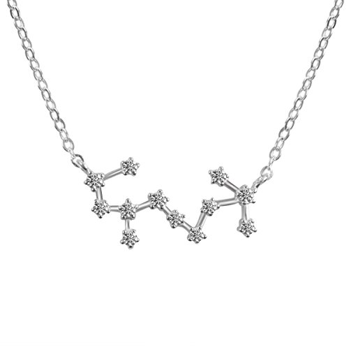 Horoscope Plated Necklace Pendant Constellation product image