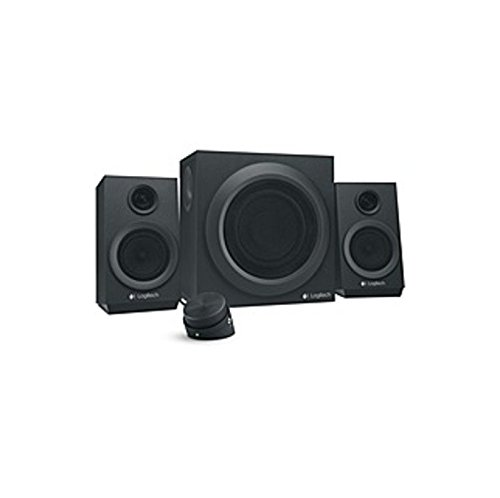 Logitech Z333 2.1 Speaker System - 40 W RMS - Black - 55 Hz